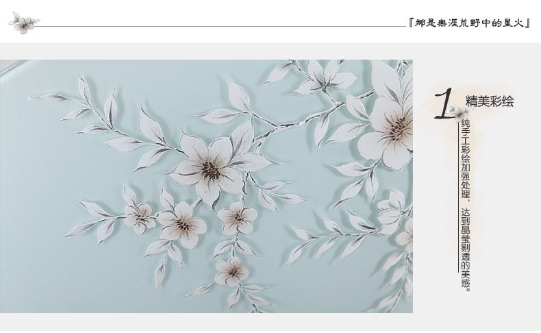 度人led灯饰(手绘系列)xd-木槿花
